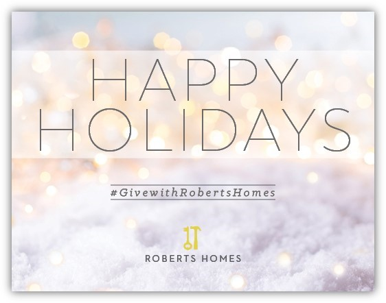 Roberts Homes Opt To Give 2017